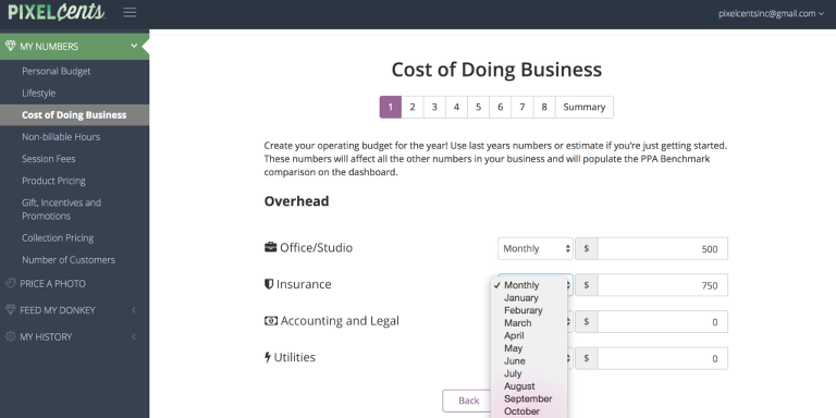 Cost Of Doing Business Calculator